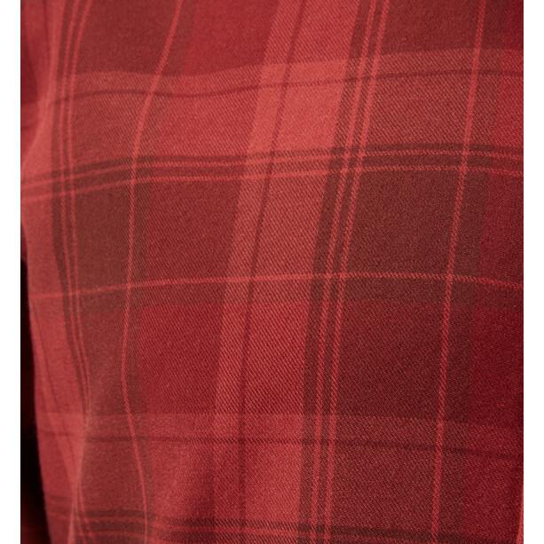 Haglöfs Tarn Flannell Shirt Men maroon red/brick red