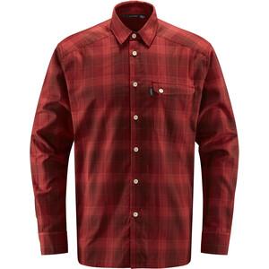 Haglöfs Tarn Flannell Shirt Men maroon red/brick red maroon red/brick red