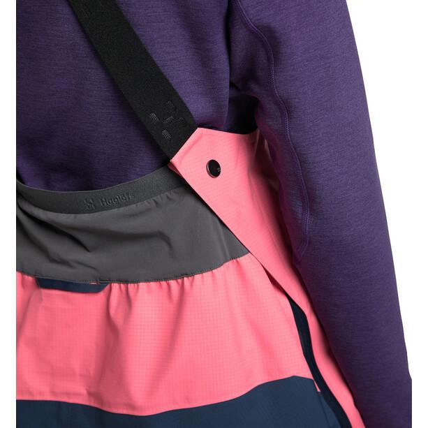 Haglöfs Vassi GTX Pro Pants Women tarn blue/tulip pink