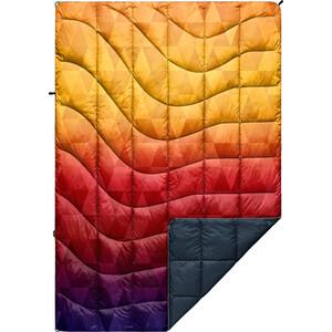 Rumpl Printed Nanoloft Puffy Blanket Travel, monivärinen monivärinen