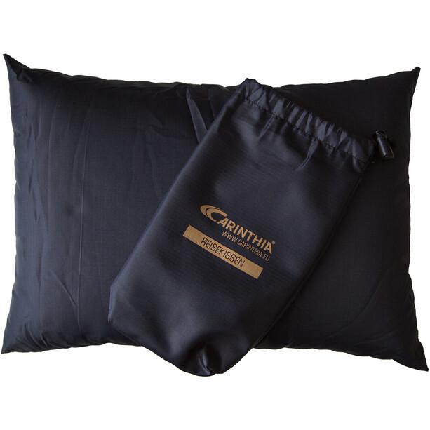 Carinthia Travel Pillow, musta