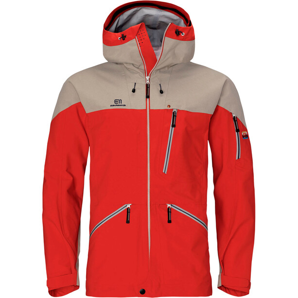 Elevenate Backside Jacket Men red glow