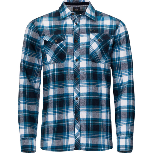 Elevenate Cham LS Shirt Men blå
