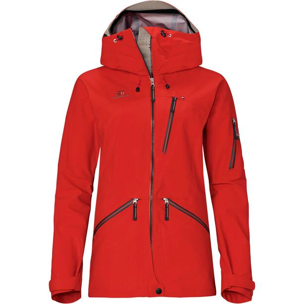 Elevenate Backside Jacket Women red glow