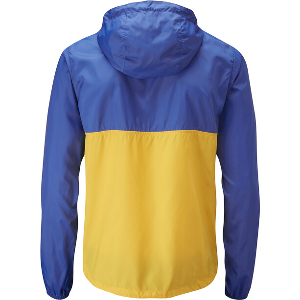 Moon Climbing Wind Cheater Jacket Men skydiver/gold