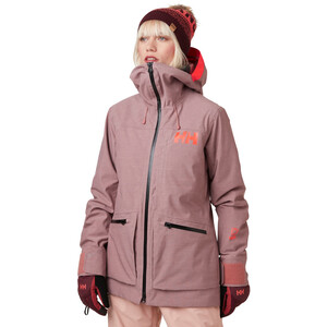 Helly Hansen Powderqueen 3.0 Jacket Women, ash rose ash rose