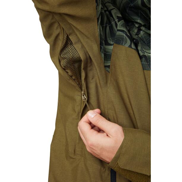 Helly Hansen Straightline Lifaloft Jacke Herren uniform green