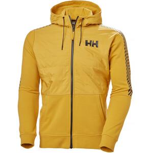 Helly Hansen Stripe Hybrid Jacket Men, amarillo amarillo