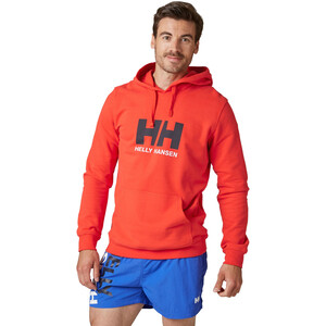 Helly Hansen HH Logo Hoodie Herren alert red alert red