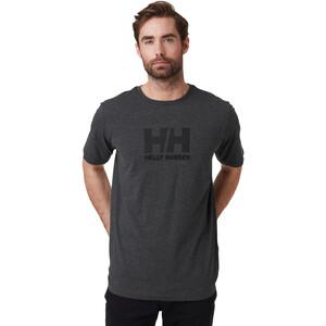 Helly Hansen HH Logo T-Shirt Herren ebony melange ebony melange