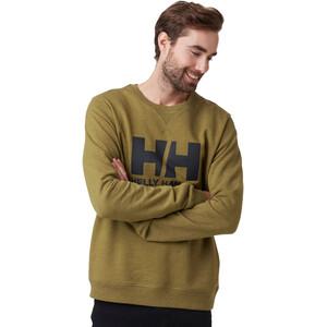Helly Hansen HH Logo Rundhals Sweater Herren uniform green melange uniform green melange