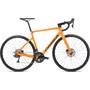 amber orange/black