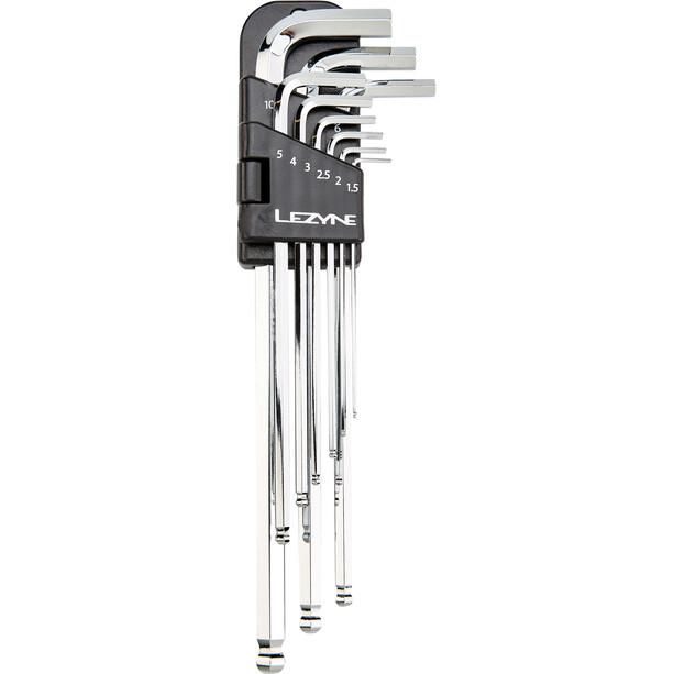 Lezyne Innensechskantschlüssel Hex Kit 1,5/2/2,5/3/4/5/6/8mm chrom
