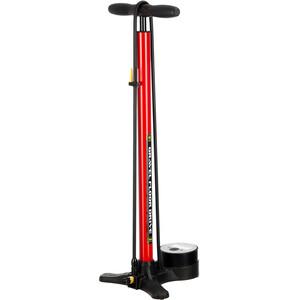 Lezyne Gravel Digital Drive Floor Pump, rouge rouge