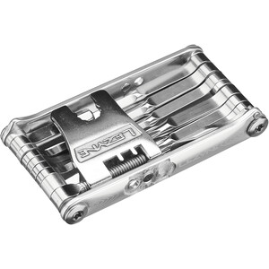 Lezyne Super SV Multitool with 22 Functions, argent argent