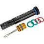 Lezyne Bar Plug Tubeless Werkzeugkit inkl. 5 Repair Strips schwarz