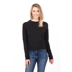 super.natural Super Crop Sweater Damen jet black jet black