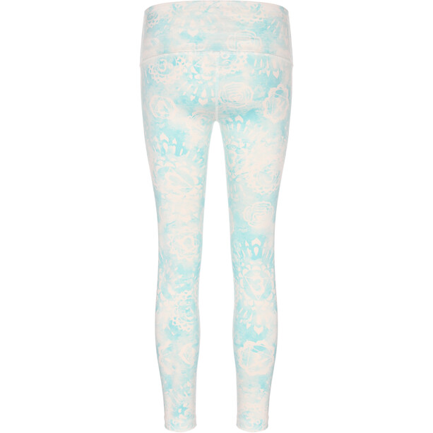 super.natural Super Printed Tights Women, fresh white/wild mint chakra print