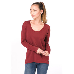 super.natural City Overshirt Damen pomegranate pomegranate