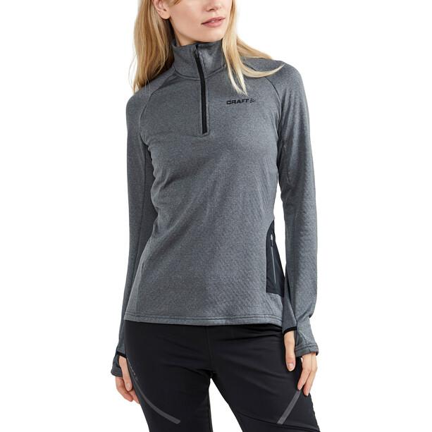 Craft Core Trim Thermal Midlayer Women dark grey melange