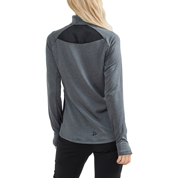 Craft Core Trim Thermal Midlayer Women dark grey melange
