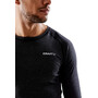 Craft Core Wool Merino Baselayer Set Men black melange