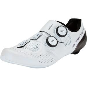 Shimano SH-RC9 S-Phyre Fahrradschuhe Damen weiß weiß