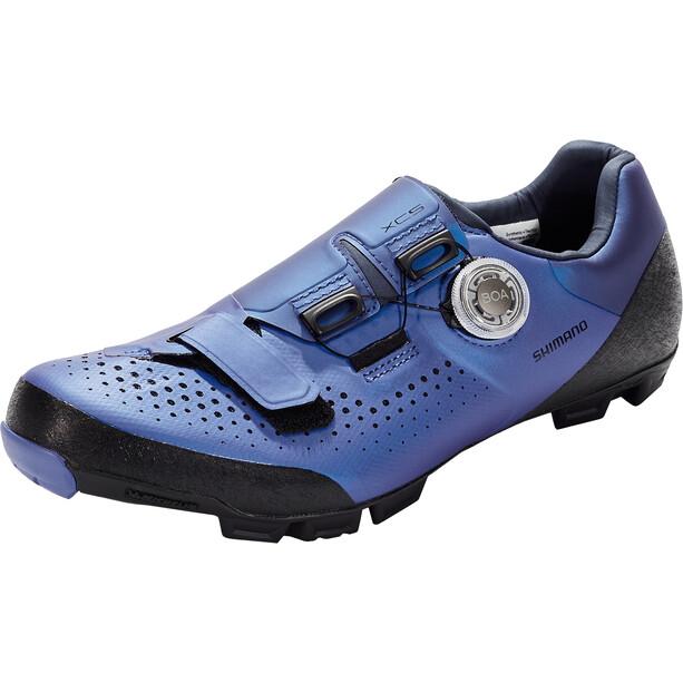 Shimano SH-XC5 Fahrradschuhe Weit Herren blau