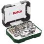 Bosch Screwdriver Bit Set with Ratchet 26 Pieces