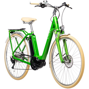 Cube Ella Ride Hybrid 400 Easy Entry, verde verde