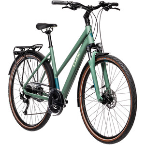 Cube Touring EXC Trapeze, groen groen