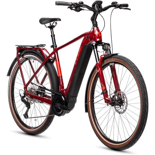 Cube Touring Hybrid EXC 625 red'n'grey