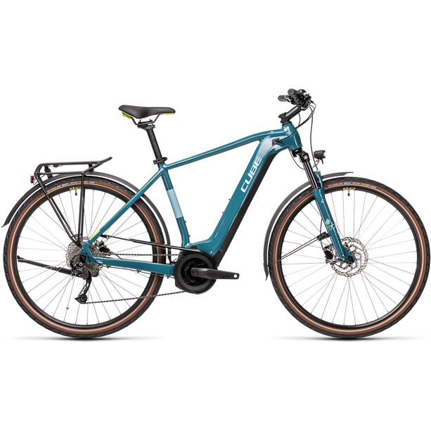 Cube Touring Hybrid One 625 blue'n'green