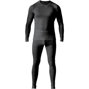 Maier Sports Adrian Baselayer Set Men, musta musta