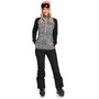 Roxy Cascade Fleece Oberteil Damen true black pop animal