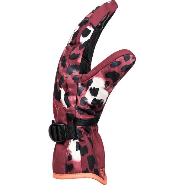 Roxy Jetty Handschuhe Damen oxblood red leopold
