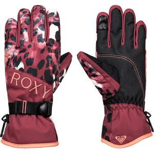 Roxy Jetty Handschuhe Damen oxblood red leopold oxblood red leopold