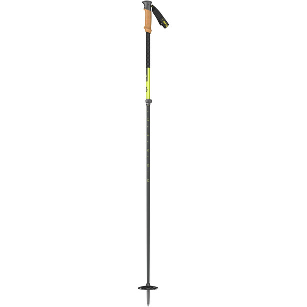 SCOTT Proguide C SRS Ski Poles black/yellow