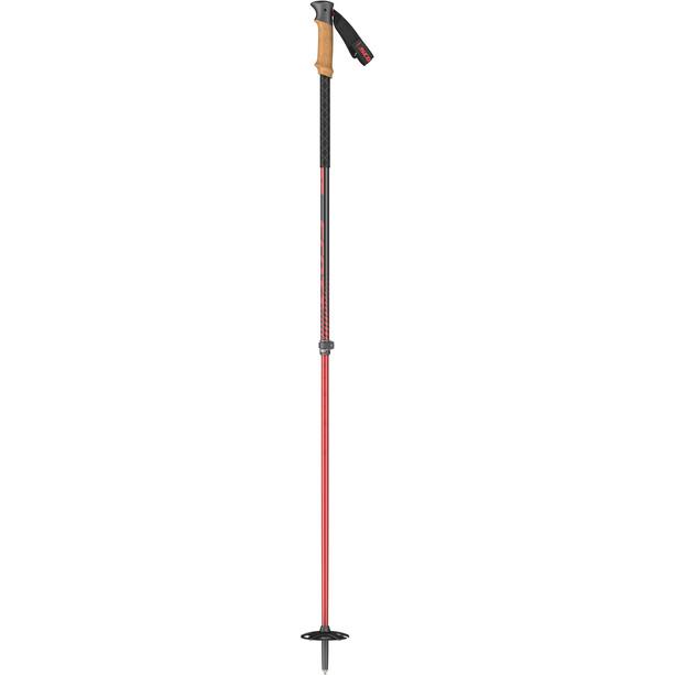 SCOTT Proguide SRS Ski Poles red