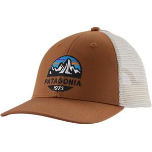 Patagonia Fitz Roy Scope LoPro Trucker Hat brown brown
