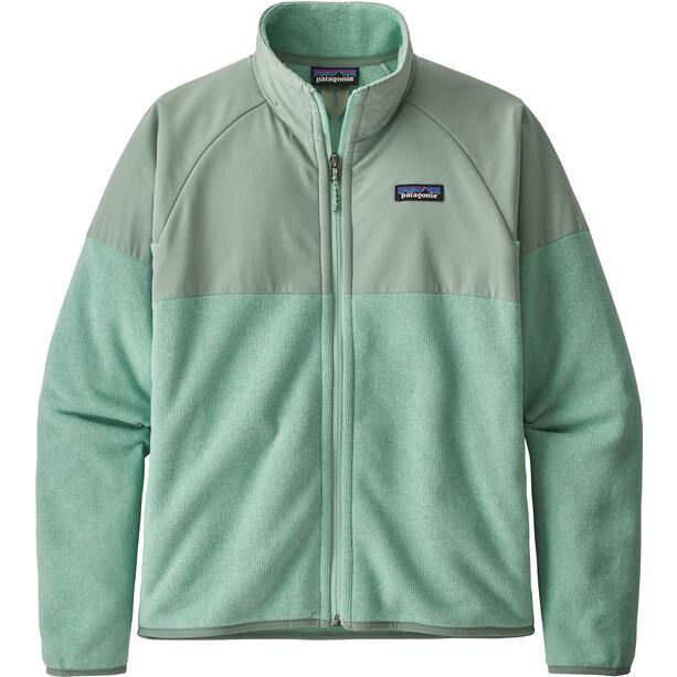 Patagonia Lightweight Better Sweater Shelled Jacket Women green