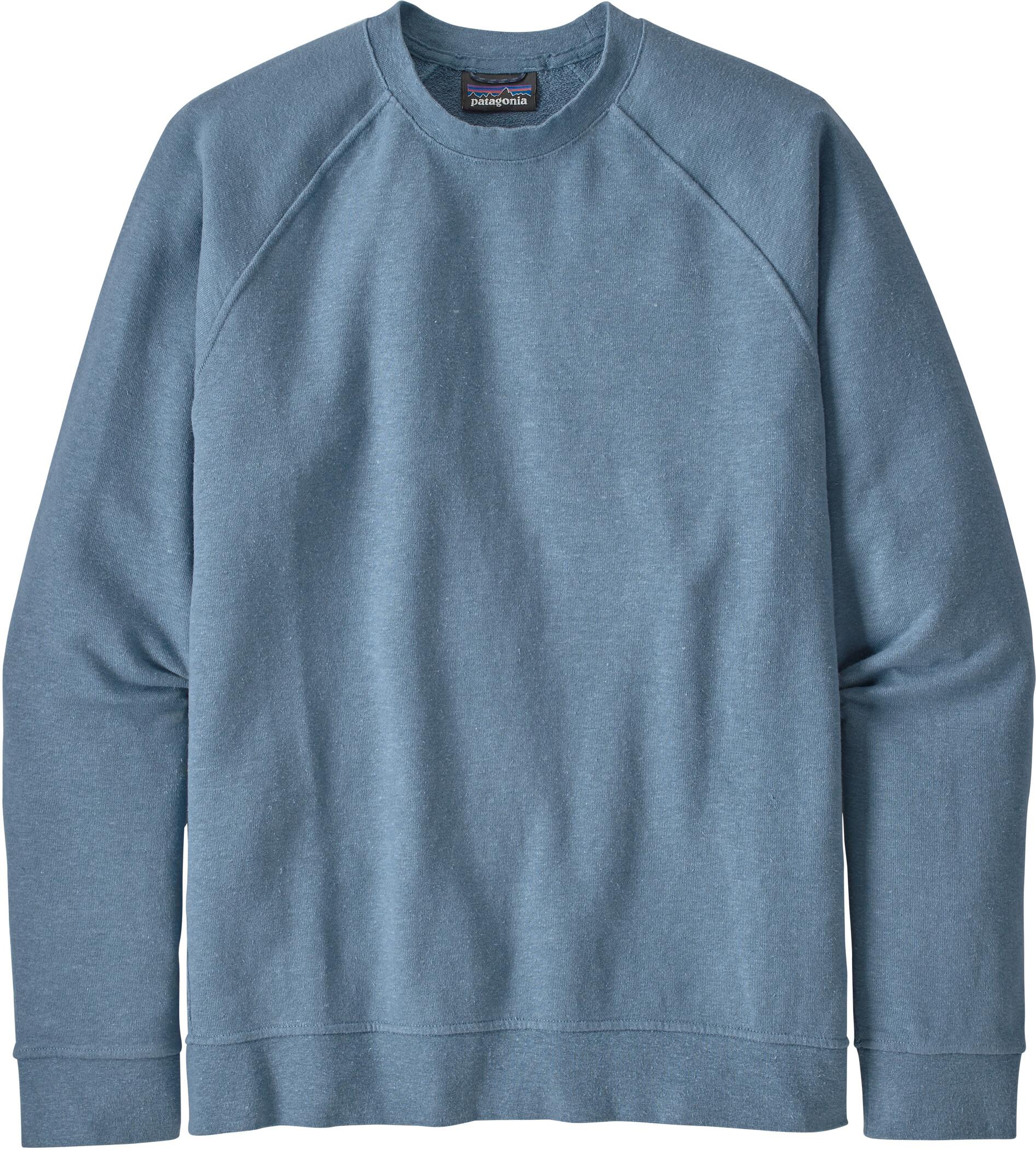 Patagonia Trail Harbor Crewneck Sweatshirt Men blue