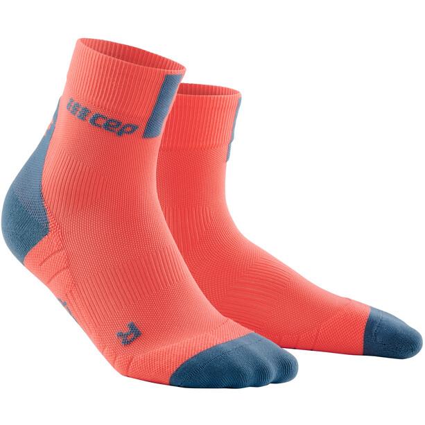 cep Short Socks 3.0 Dam orange/grå