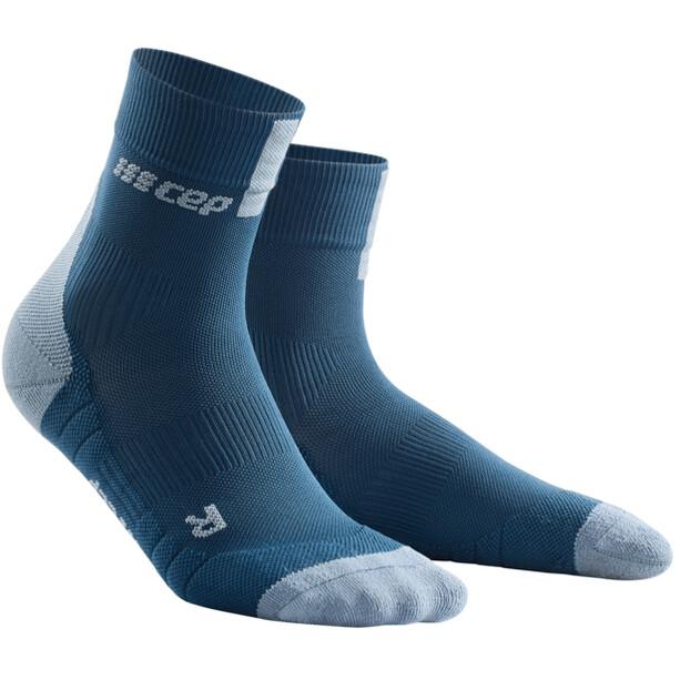 cep Short Socks 3.0 Dam blå/grå