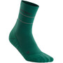 cep Reflective Mid-Cut Socken Herren green