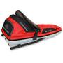 Fjellpulken Classic Pulk Complete 131cm Kids red/black