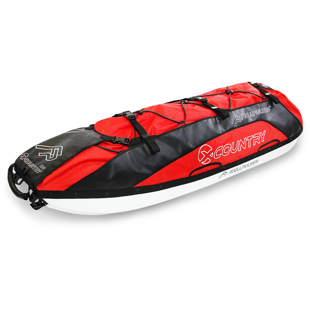 Fjellpulken Xcountry 130 Touring Pulk Complete red