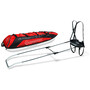 Fjellpulken Xcountry 144 Touring Pulk Complete red
