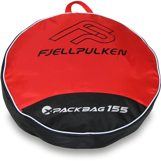 Fjellpulken Packbag 155l red