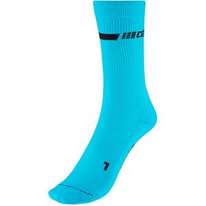 cep Neon Mid-Cut Socks Men, Turquesa Turquesa